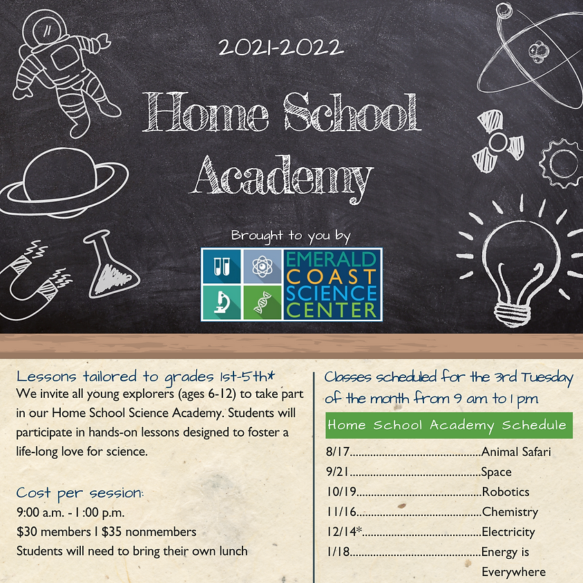 Home School Academy *SOLD OUT*