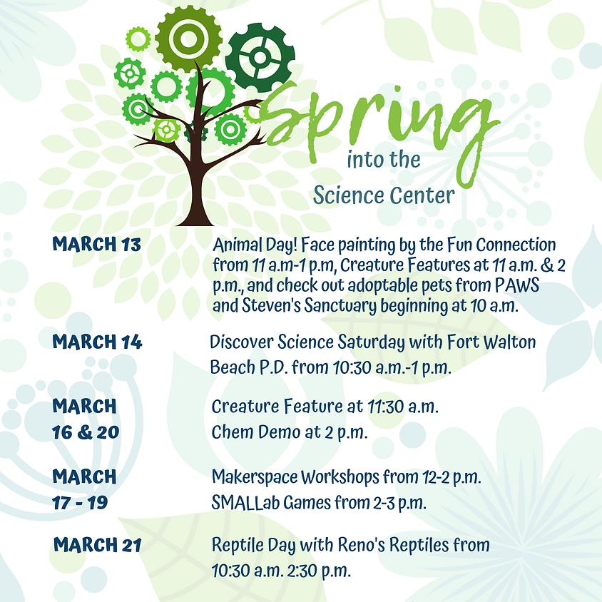 Spring Break Workshops
