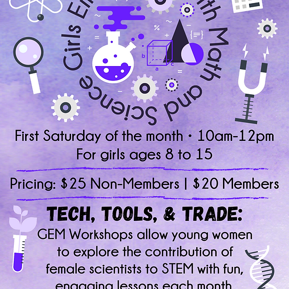 Girls Empowered with Math and Science Workshops