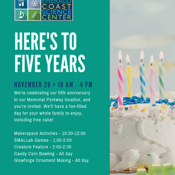 Join Our Anniversary Celebration