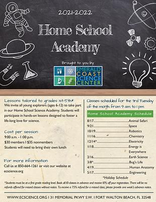 Home School Academy 2021-22 flyer.png