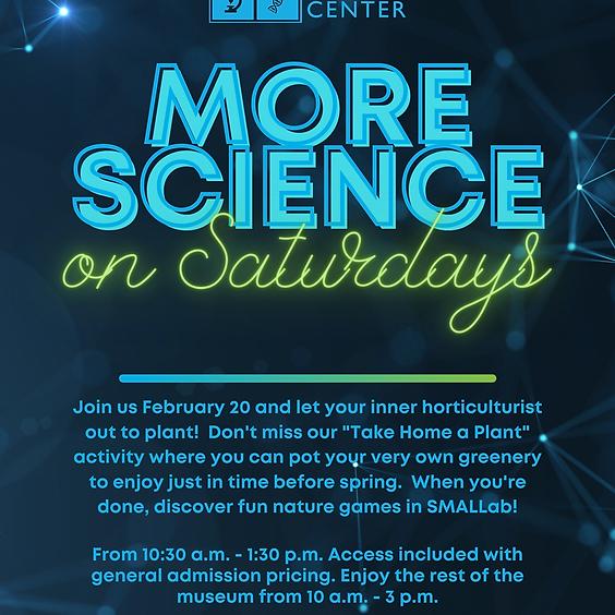 "Science Saturdays: ""Take Home a Plant"" Workshop"