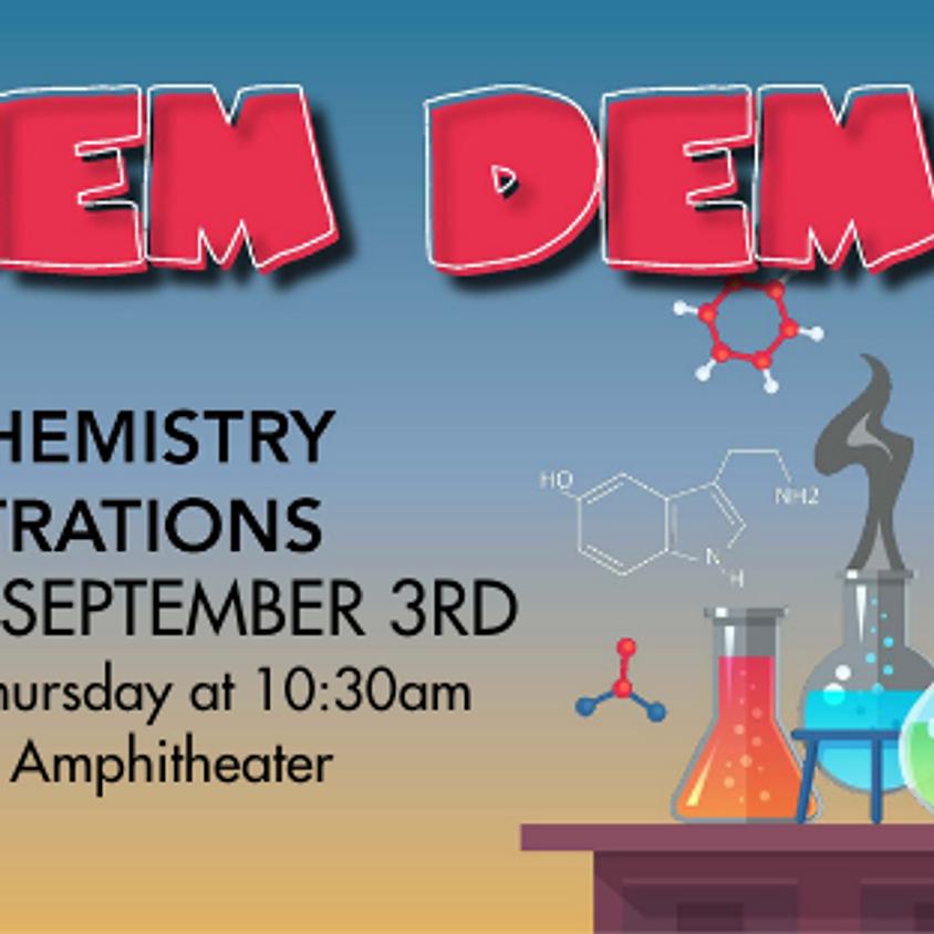 Chem Demos Week of June 1