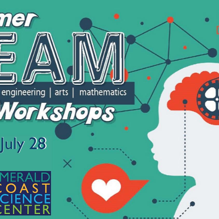 Summer STEAM Workshops: July 28 Civil Engineering and Building