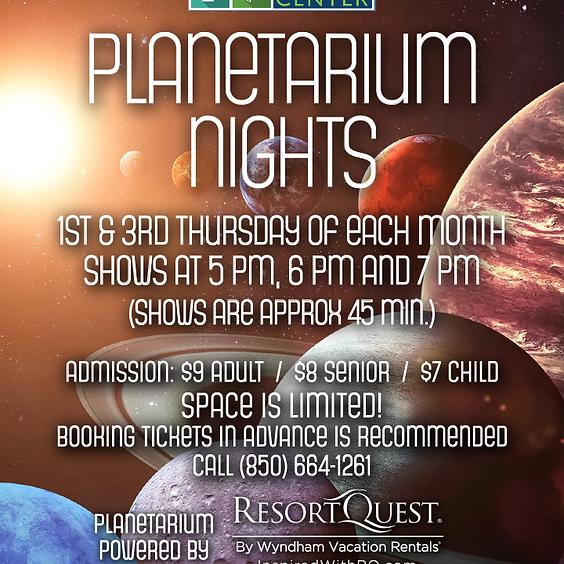 Planetarium Night