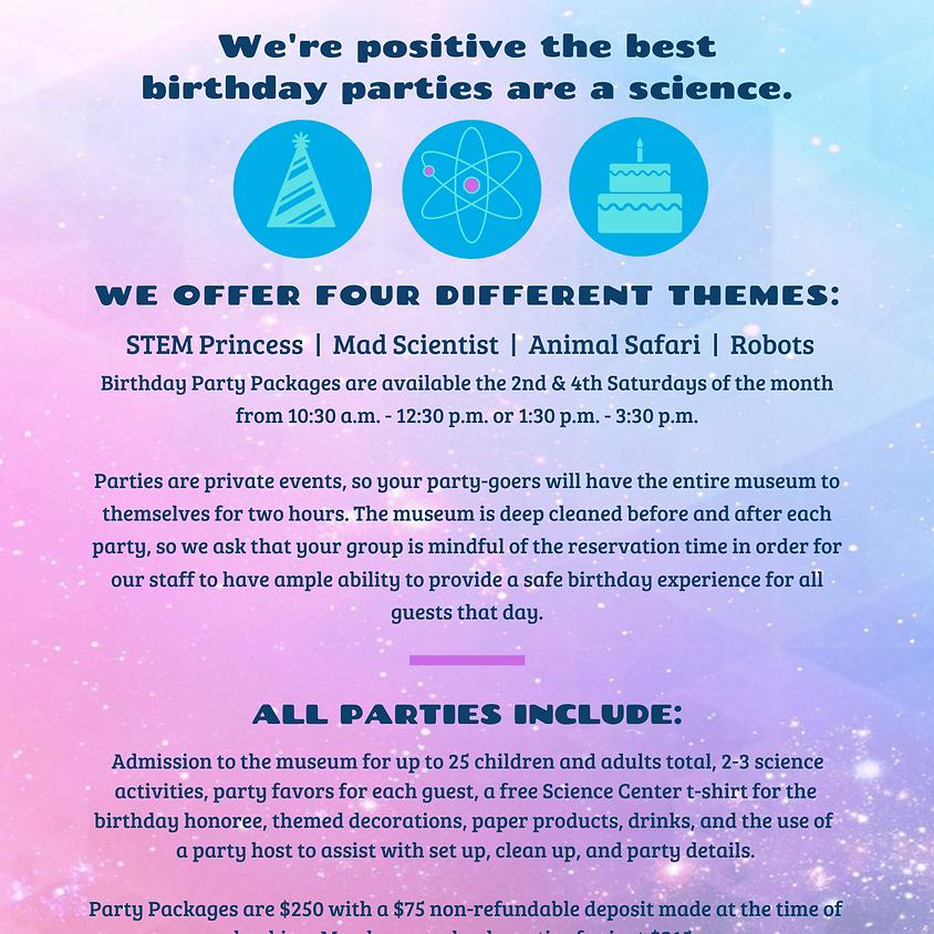 Private Birthday Parties