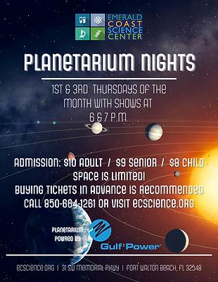 Planetarium Nights 2021 Pricing Flyer.pn