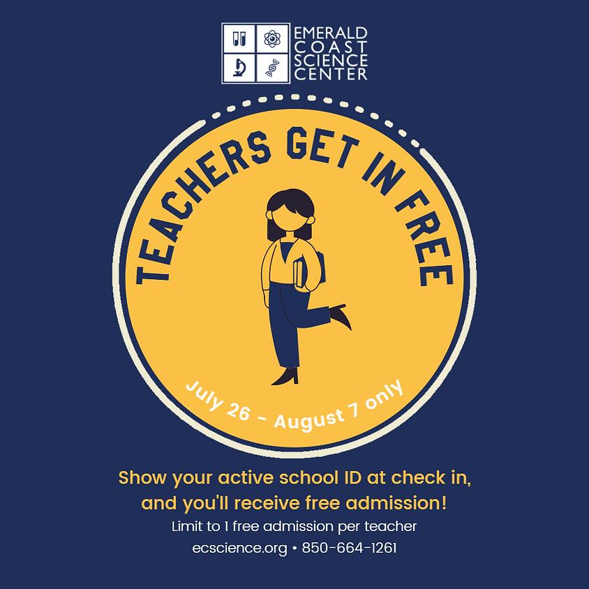 Education Celebration: Teachers Get in Free