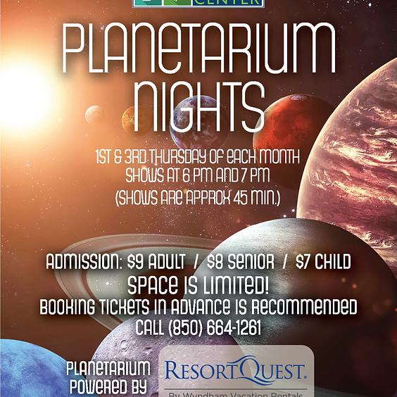 Planetarium Nights: 7 p.m. Show
