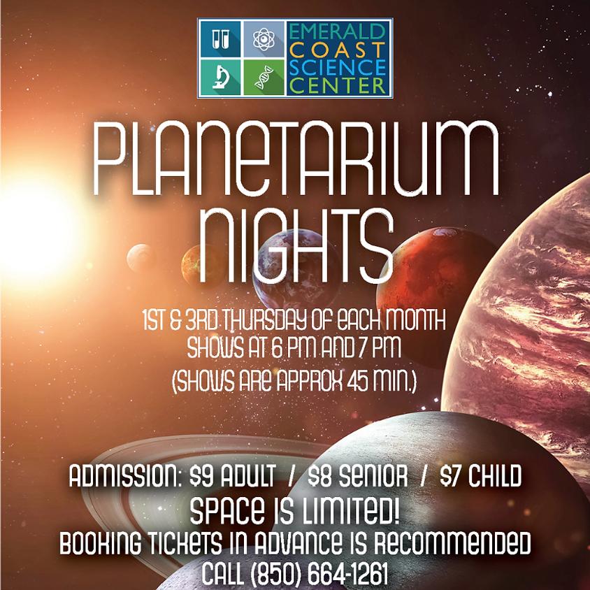 Planetarium Nights: 6 p.m. Show