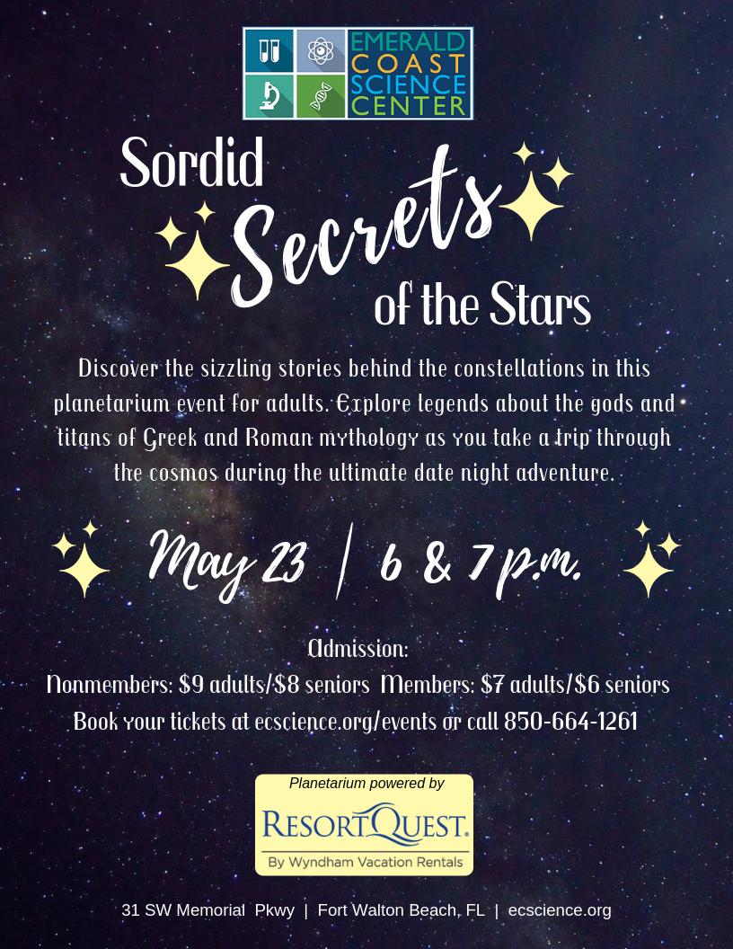 Planetarium Special Feature: Sordid Secrets of the Stars 7