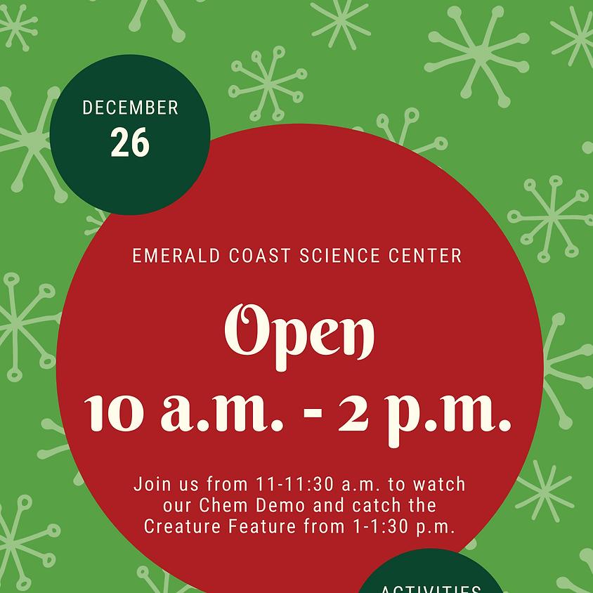 Open Special Hours December 26