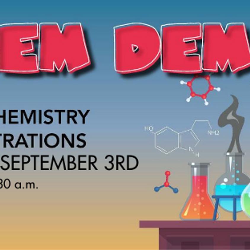Chem Demos Week of August 24