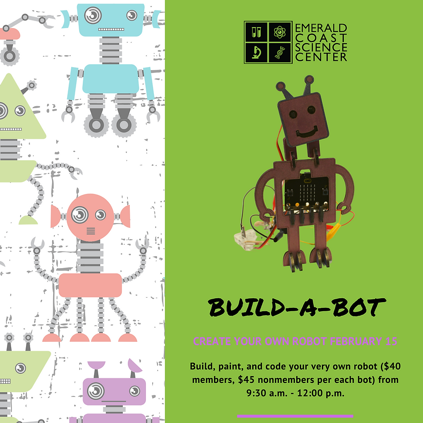 Build-a-Bot Workshop SOLD OUT