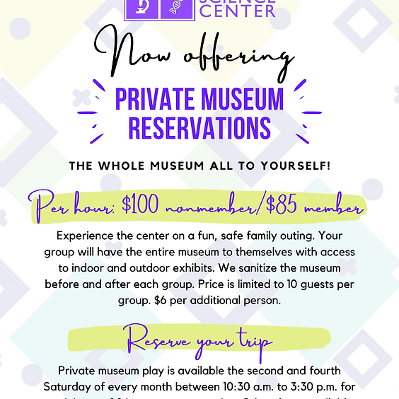 Private Museum Reservations