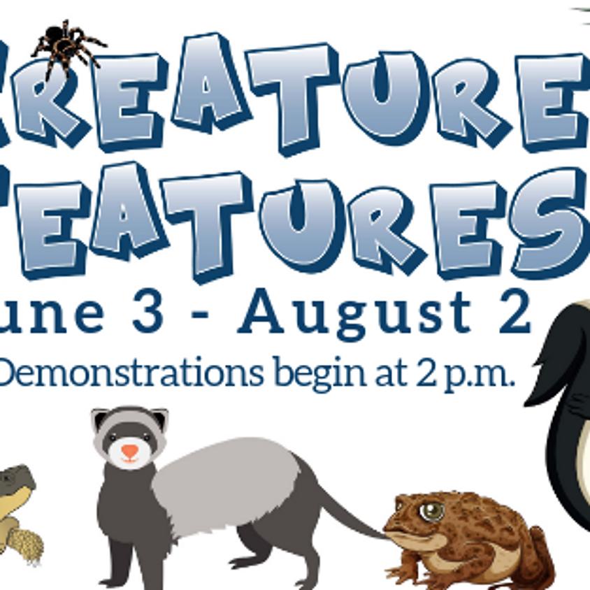 Creature Features Summer Schedule