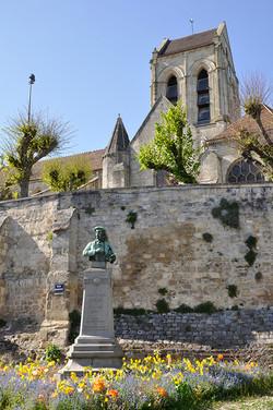 statue de Daubigny ©JLPP