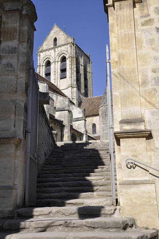 marches de l'église d'Auvers ©JLPP