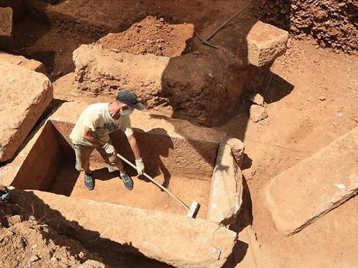 Muğla'da İnşaat'tan 2 Bin 400 Yıllık Mezar Çıktı!
