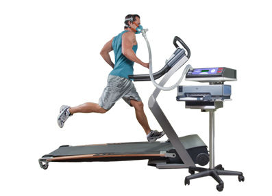 VO2 Max Fitness Test on Treadmill