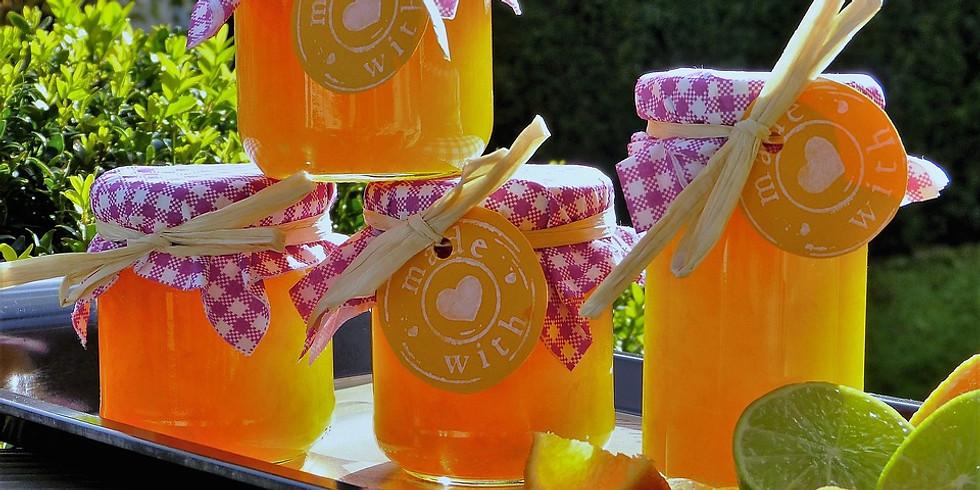 Atelier : Vin d'orange et confiture d'oranges amères