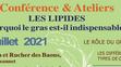 3 Juillet - Atelier Conférence Naturopathie : les Lipides