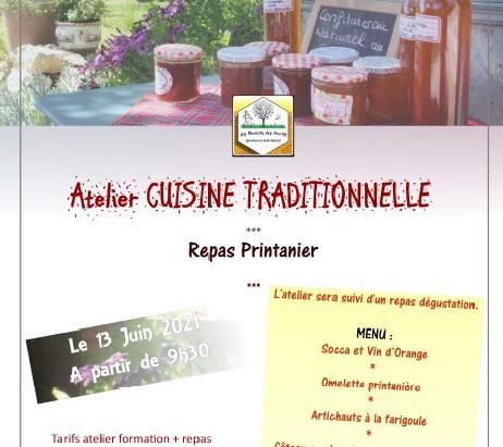 Atelier Cuisine le 13/06