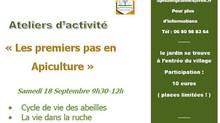 18/09/2021 : Atelier Apiculture