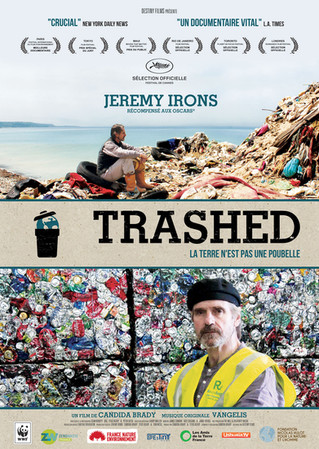 SAMEDI 25 FEVRIER - Soirée Cinéma - TRASHED - la terre n'est pas une poubelle