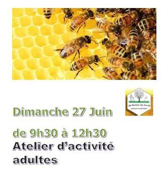 Ateliers Apiculture les 26 et 27 Juin