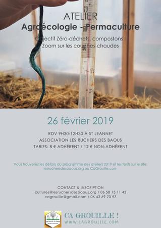 Atelier : Objectif Zéro-déchets, compostons ! Zoom Couches-chaudes