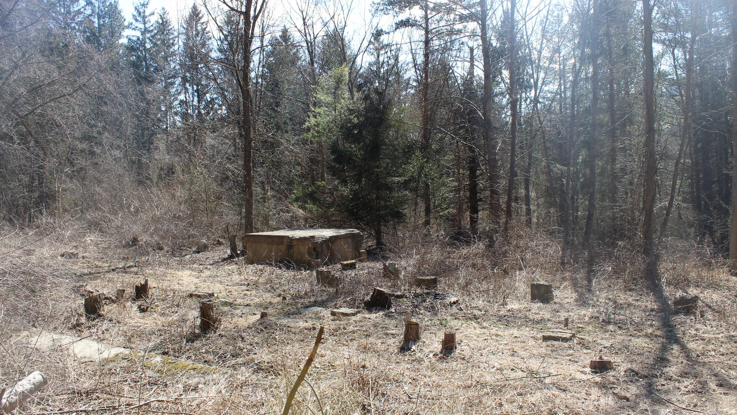 Remnants of POW Barracks