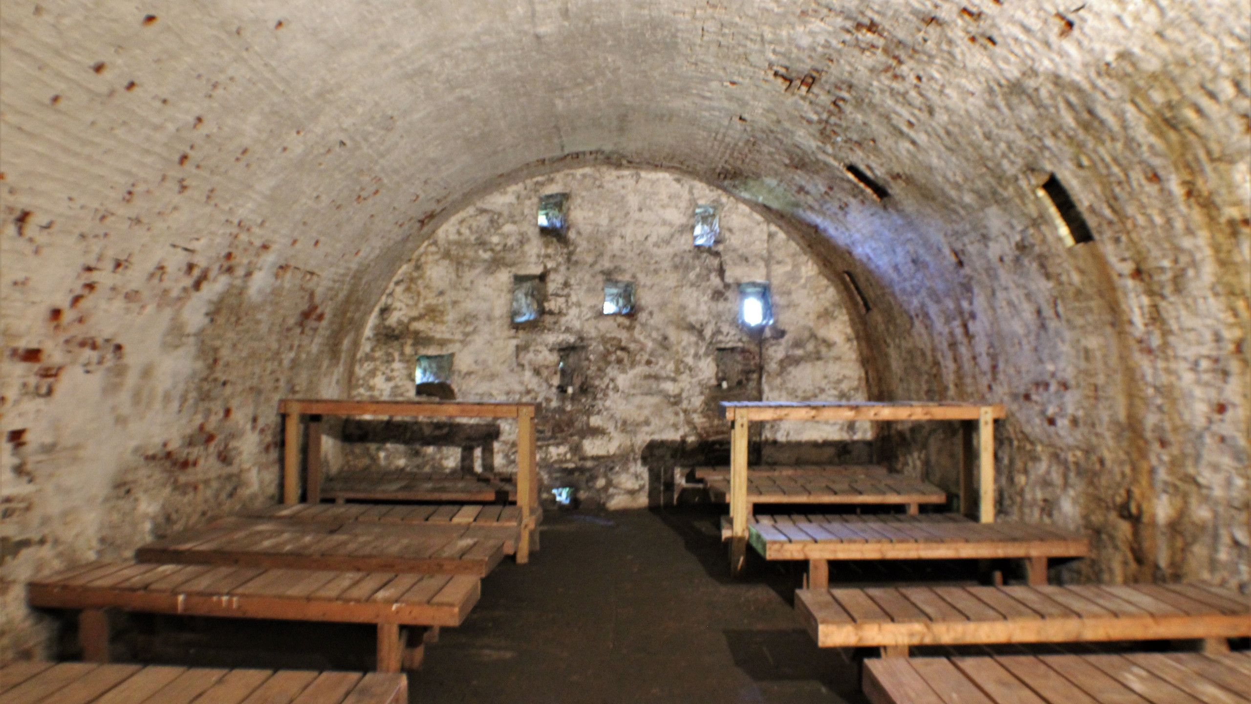 Soldiers' Quarters in the Casemate