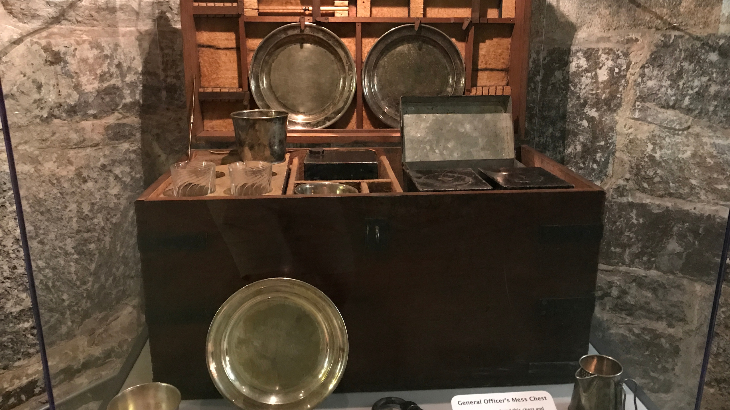 Officer's Mess Chest from Civil War