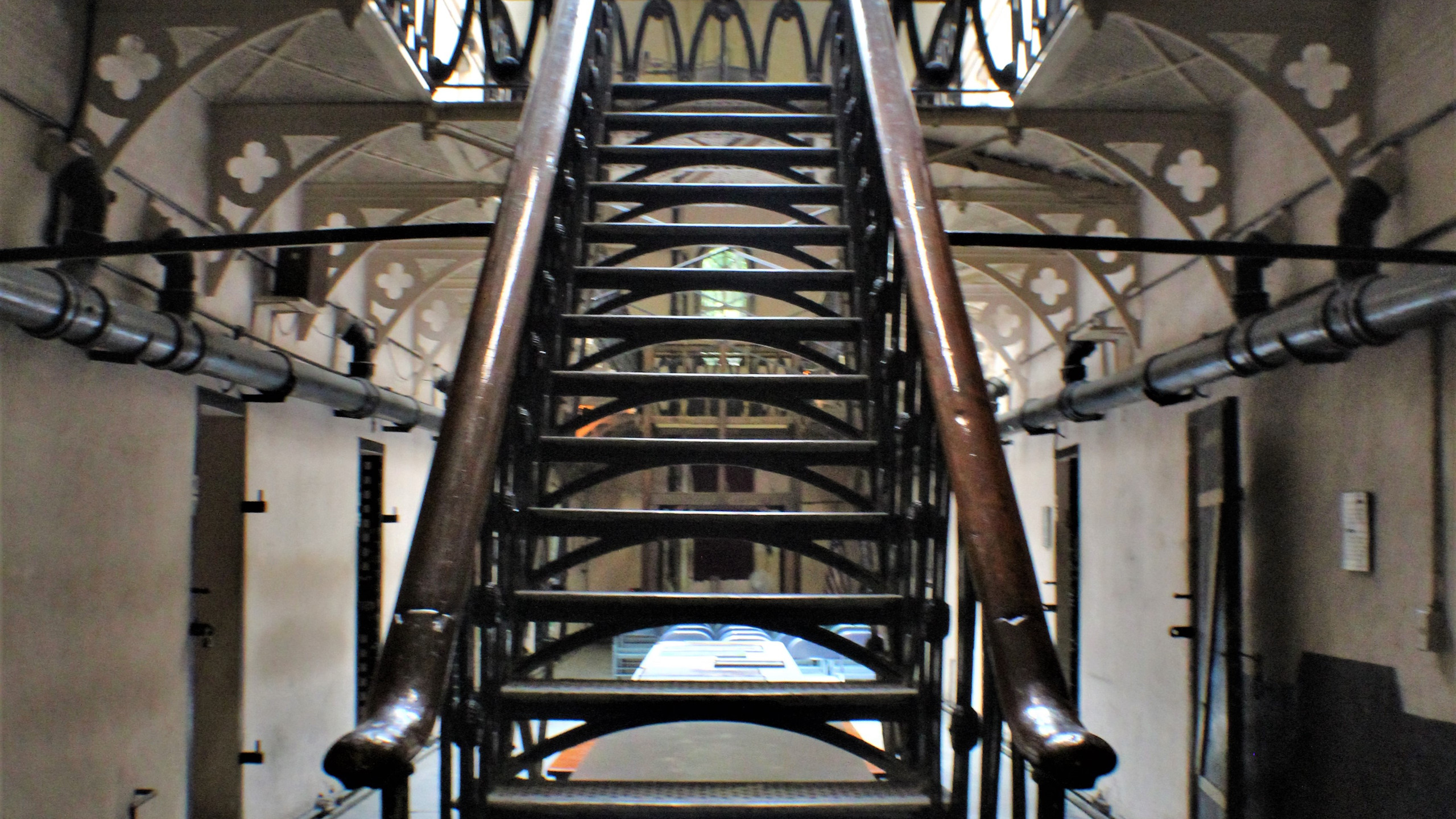 Staircase in Main Cell Block