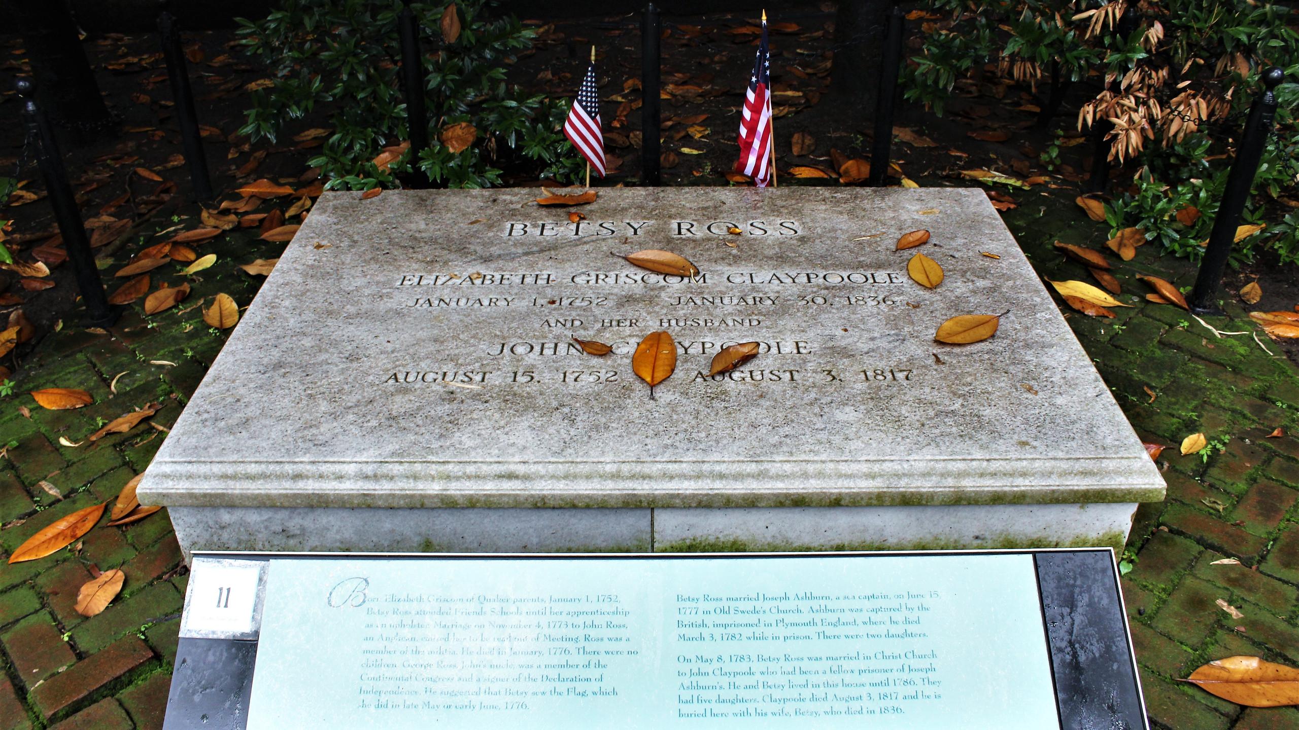 Betsy and John Claypoole's Grave