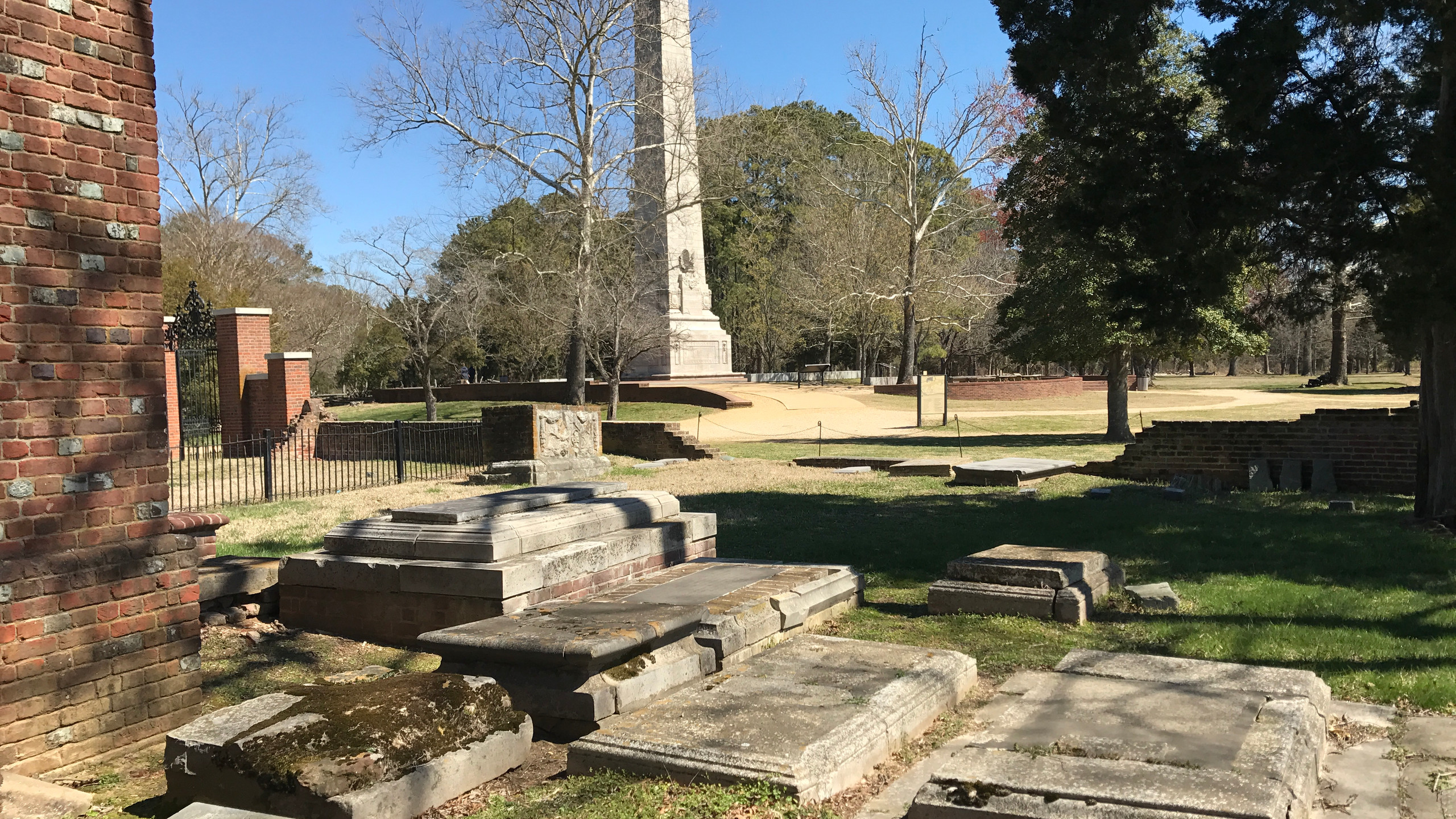 Tombs of James and Sarah Blair
