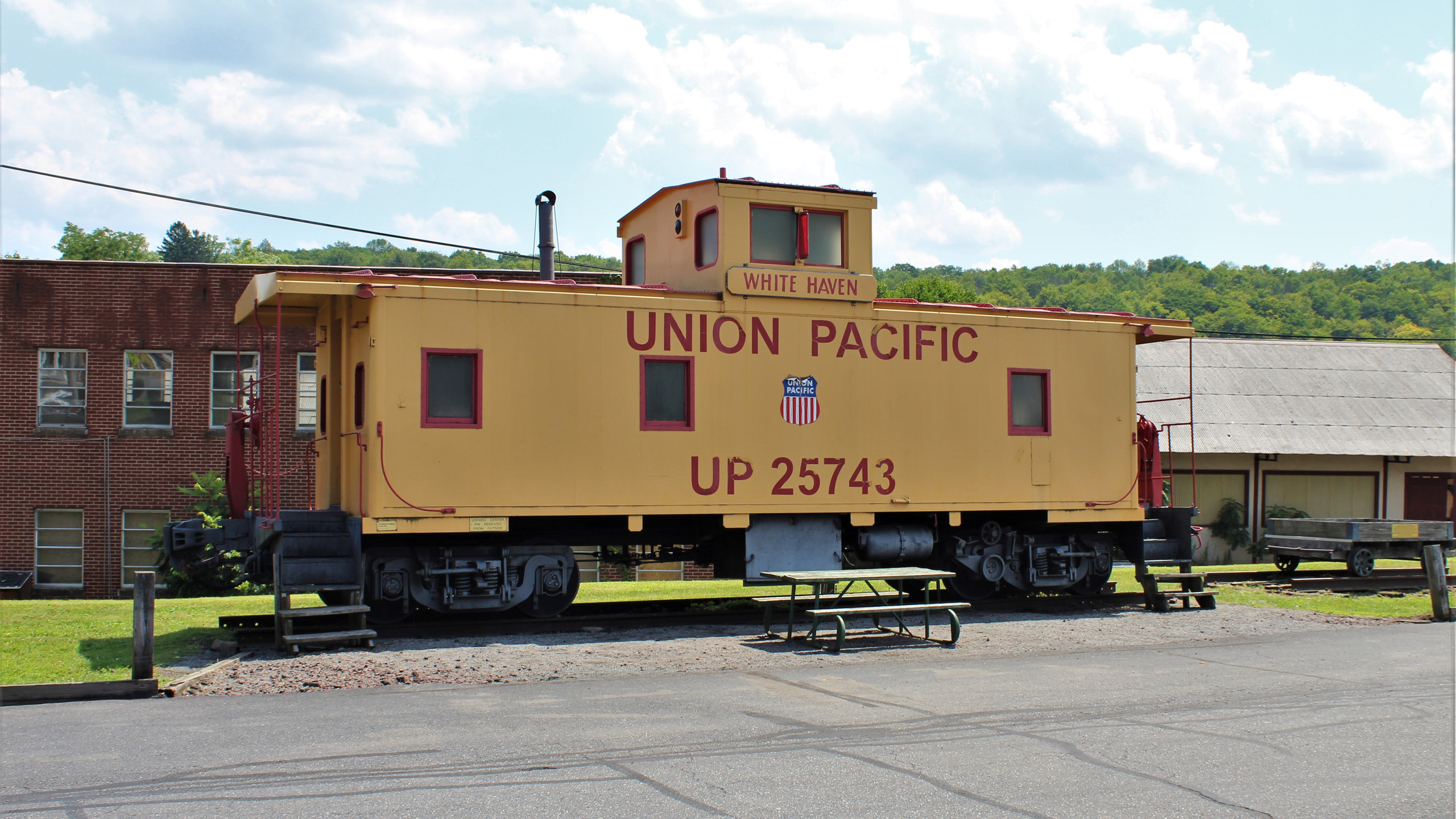 Union Pacific Caboose in White Haven