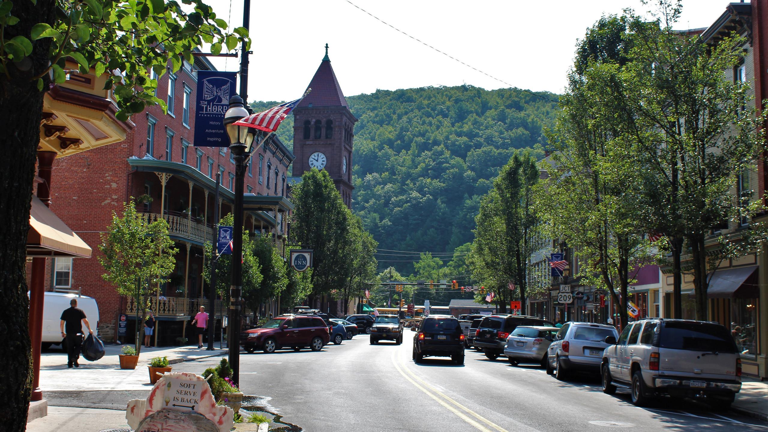 Main Street of Jim Thorpe