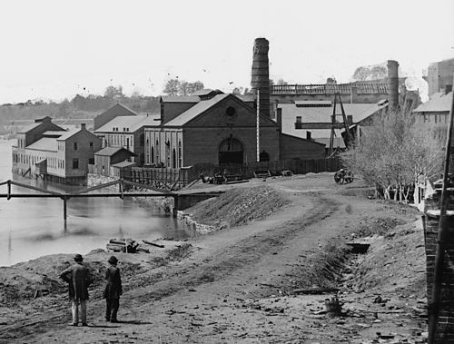 Tredegar Iron Works, April 1865