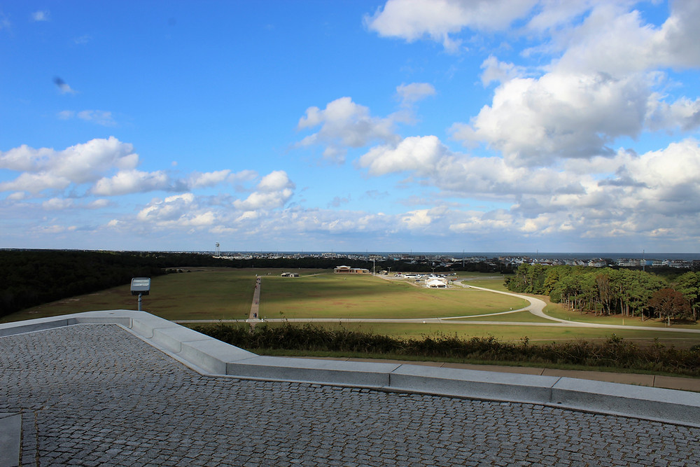 View from the Wright Brothers Monument