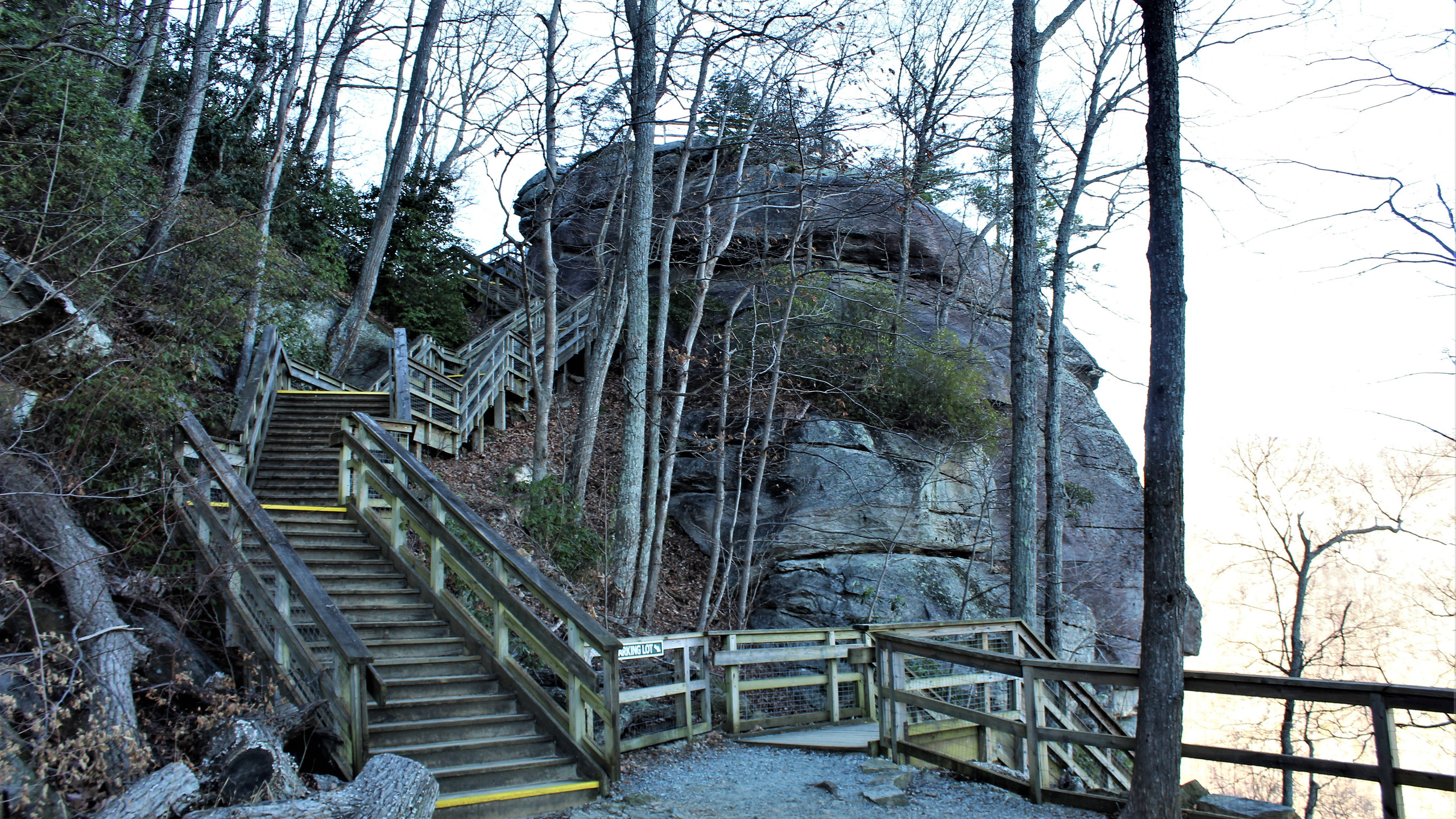 Stairs to Pulpit Rock