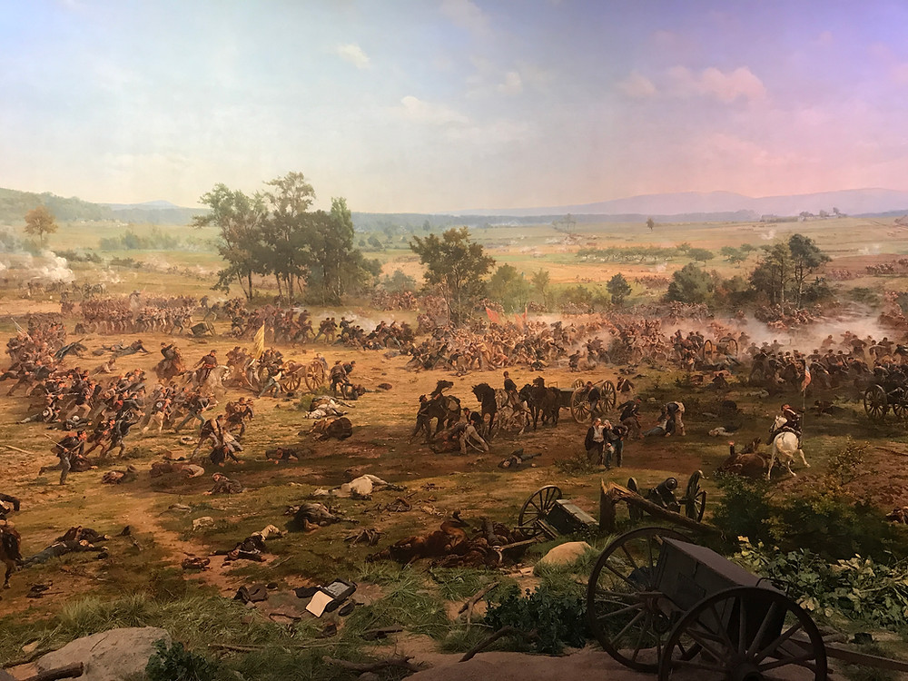 A section of the Cyclorama