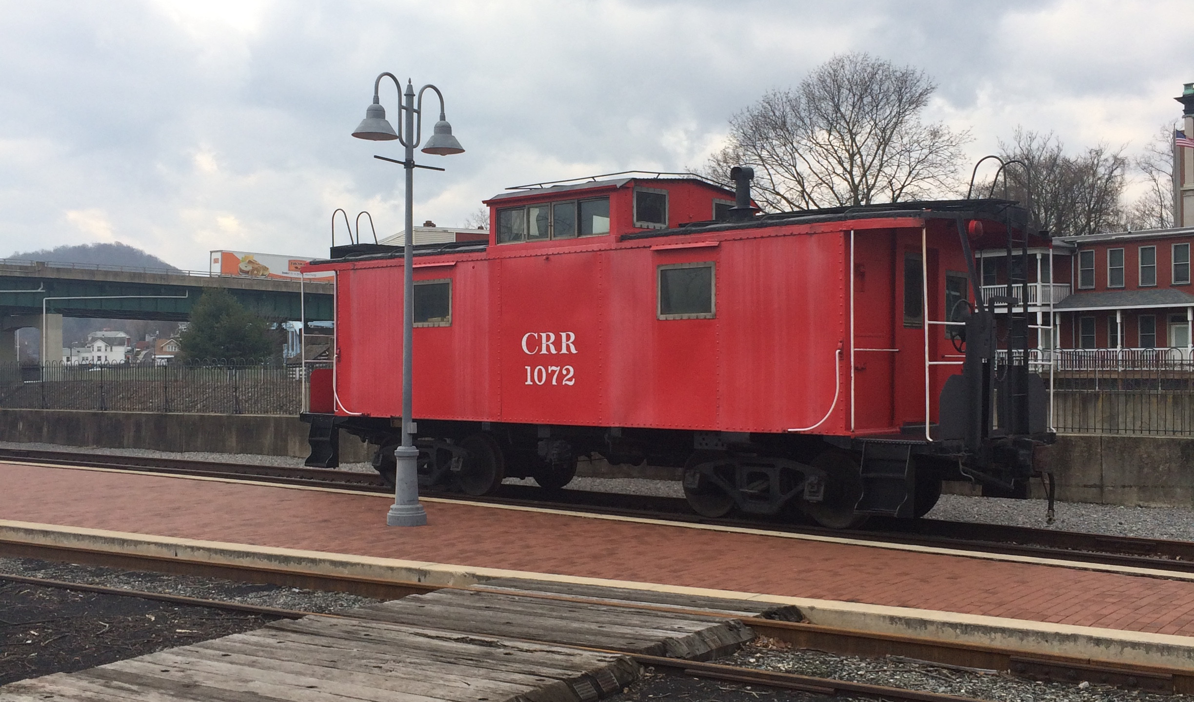 Old Caboose at Cumberland Station