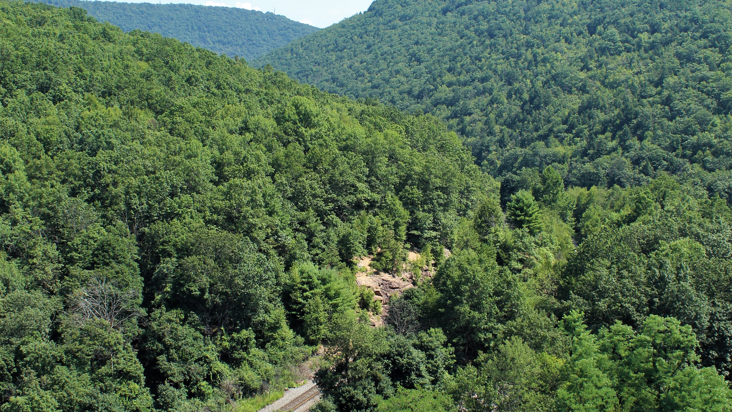 Overlook at Turn Hole Tunnel