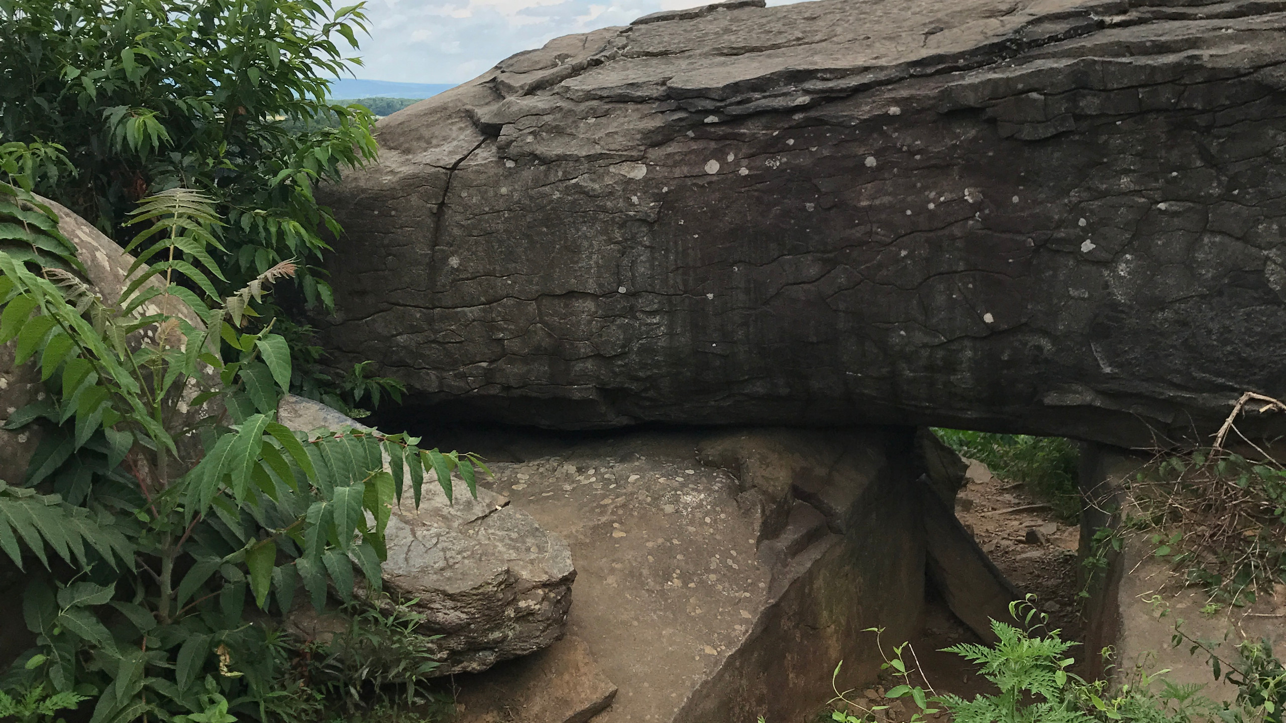 Breastworks on Little Round Top