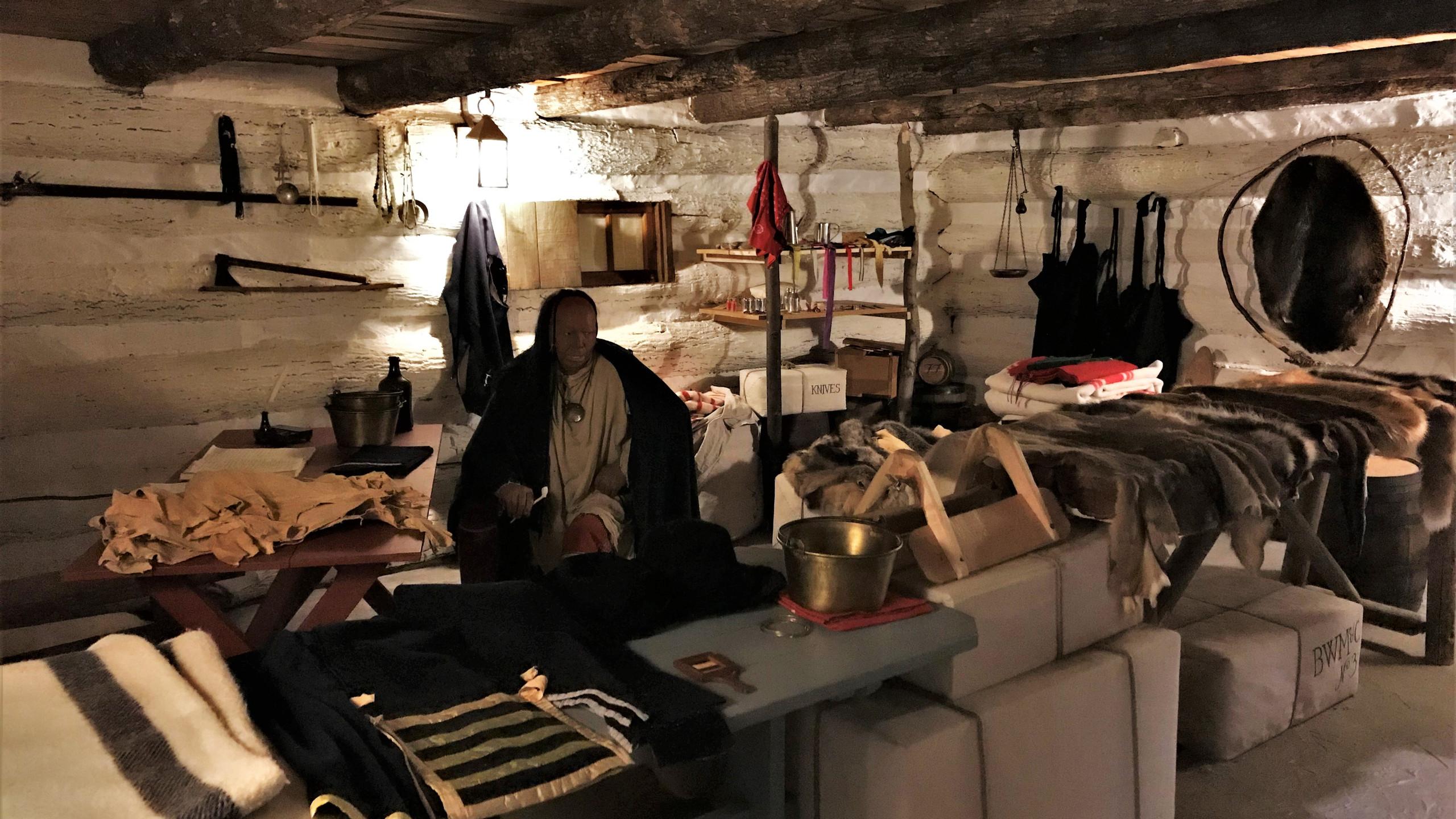 Fur Trader's Cabin