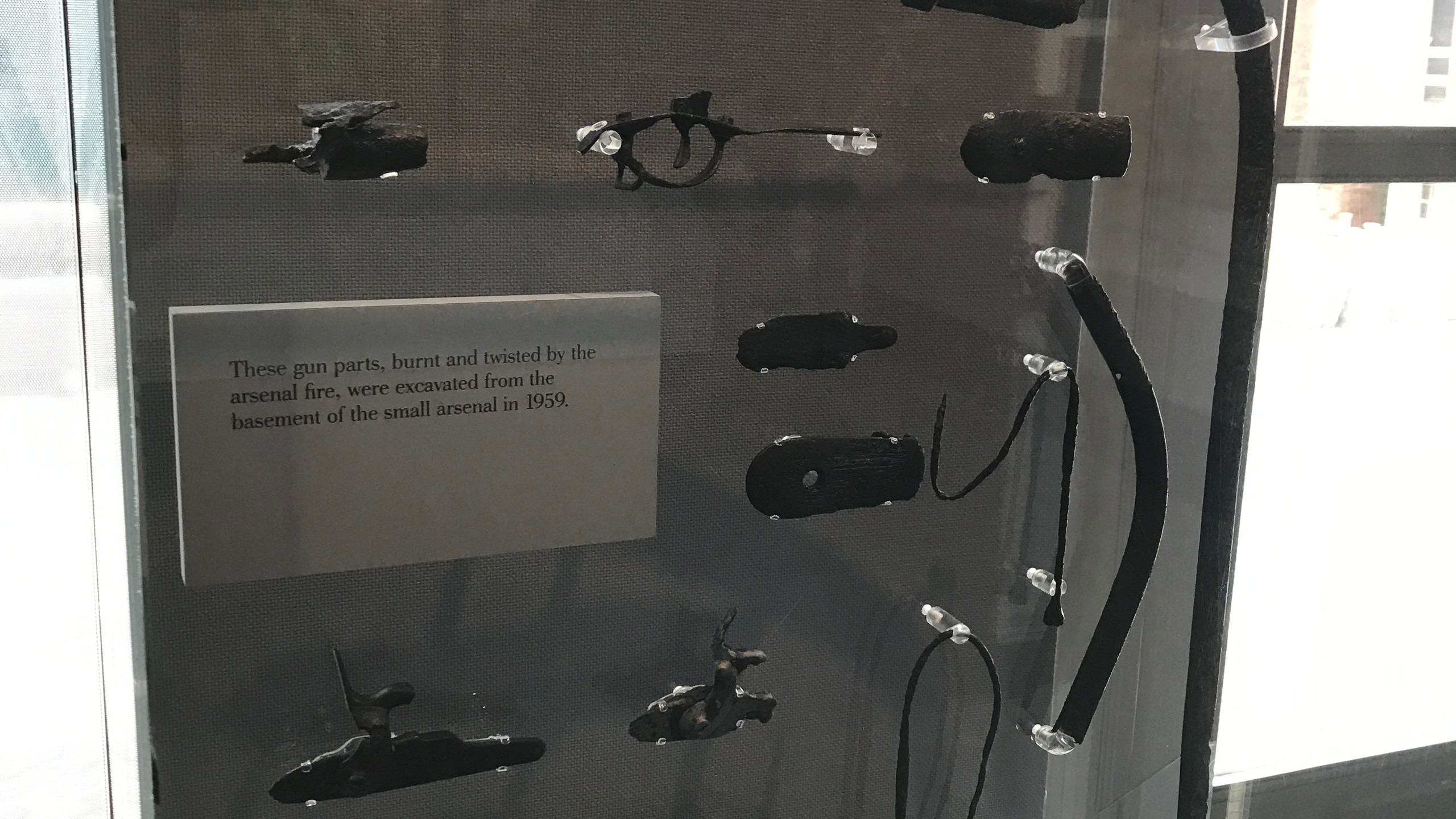 Relics Recovered from Harper's Ferry