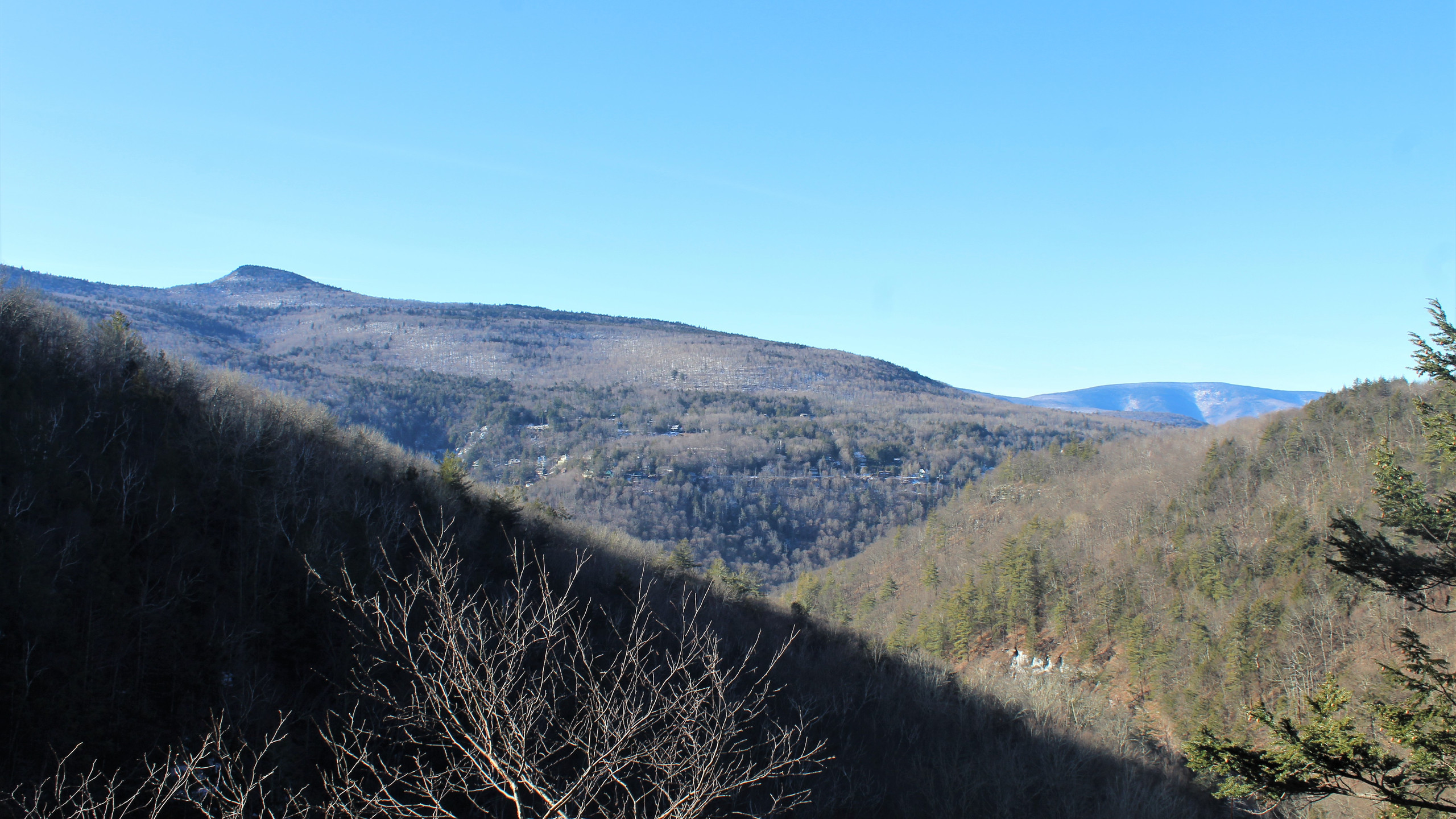 View of Hunter Mountain