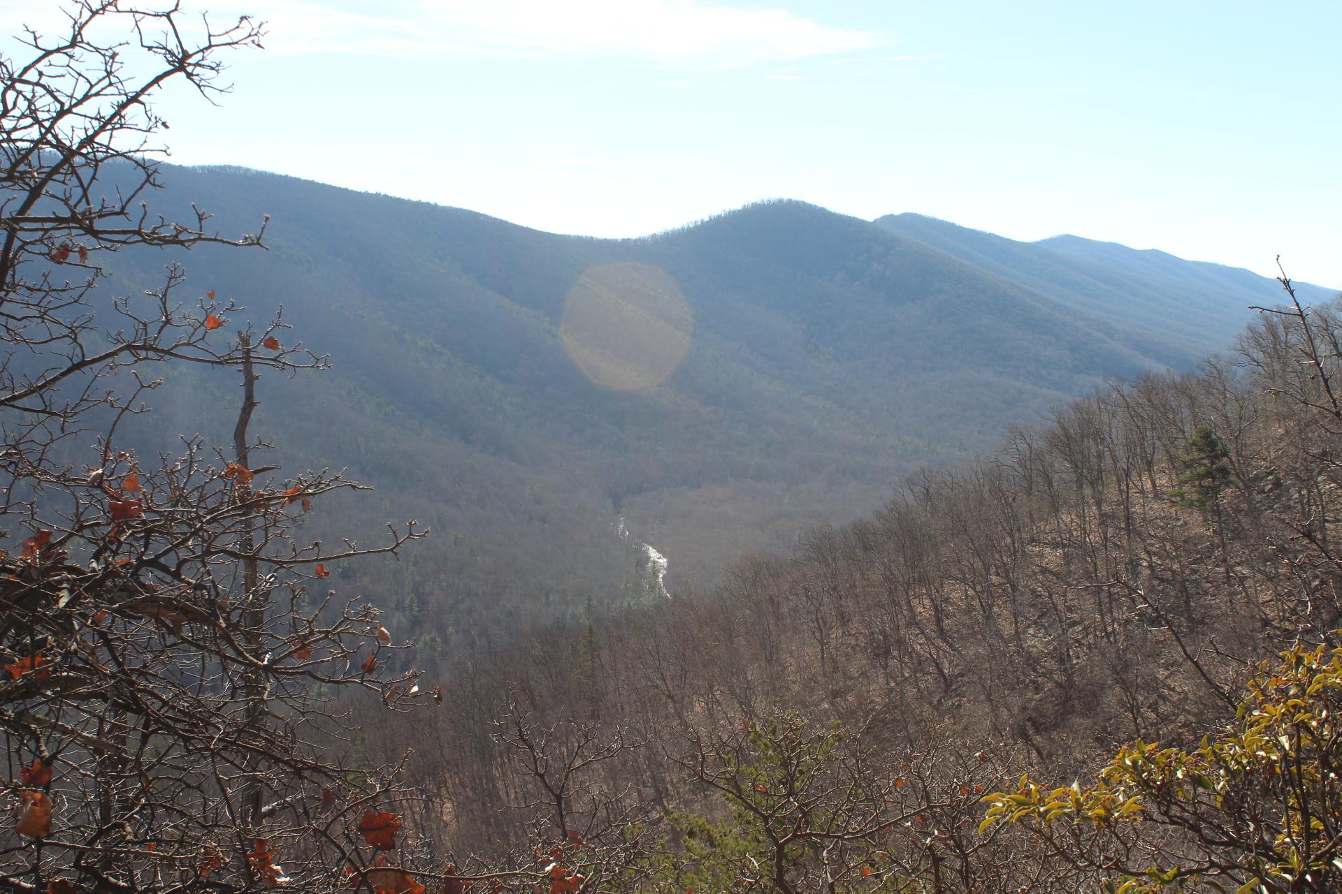 Mountains across the Ravine